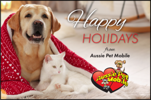 happy holidays from aussie pet mobile